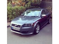 Volvo C30 R-Design 1.6ltr Petrol, 09 plate, Dark Grey, 51,500 miles, Manual, FSH. £3800