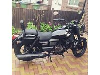 **UM RENEGADE COMMANDO 125CC** EXCELLENT CONDITION