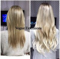 **CERTIFIED, REG'D & EXPERIENCED** Hair Extension Stylist