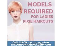 **FREE PIXIE CUTS IN SHOREDITCH***