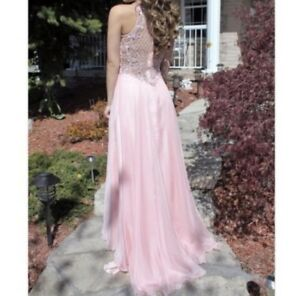 GORGEOUS LIGHT PINK PROM DRESS