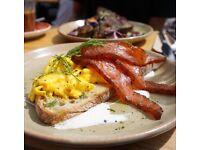 Senior Sous Chef - brunch cuisine - menu creation - daytime hours & no doubles