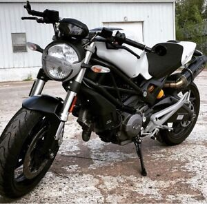 2013 Ducati Monster 696 with ABS / Lady Ridden