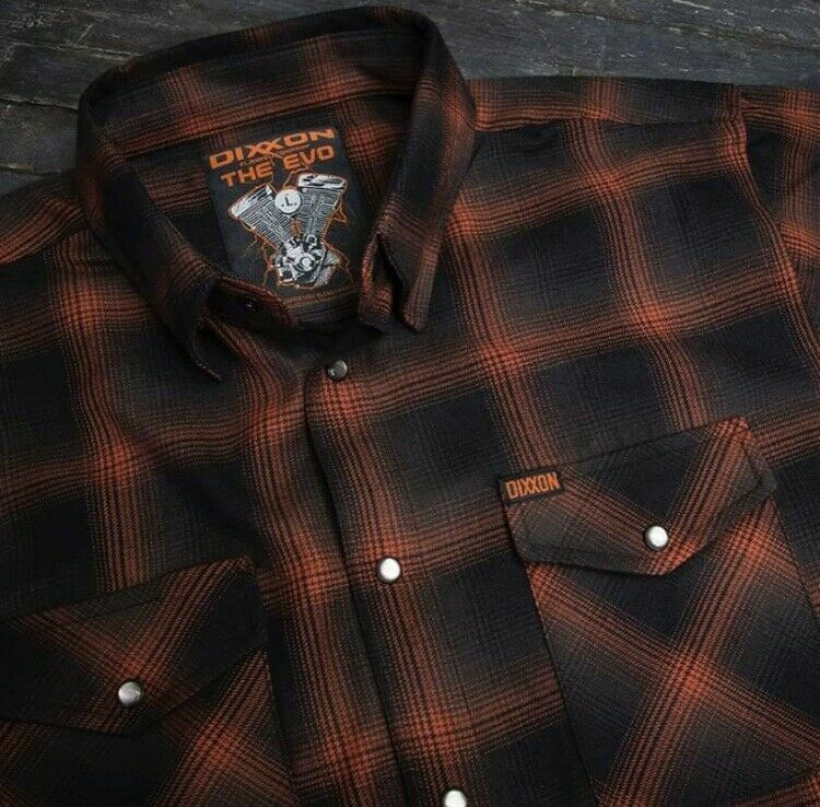 """Dixxon Flannel """"The Evo"""" Men's Large TALL - New in bag"""
