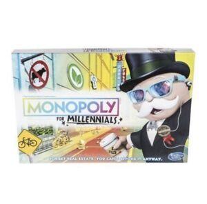 Monopoly for Millenials - BNIB
