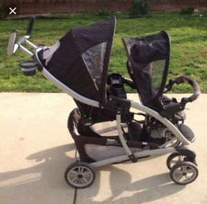 Garco double stroller great condition