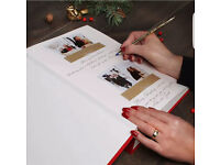 Photo booth hire with guestbook, key rings, red carpet
