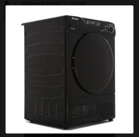 NEW GRADED !!! CANDY 8KG GCC580NBB CONDENSER TUMBLE DRYER - BLACK WITH 12 MONTHS WARRANTY RRP £249
