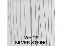 White Black Silver String Wetwall Panels Shower Bathroom Kitchen Wet Wall sheet