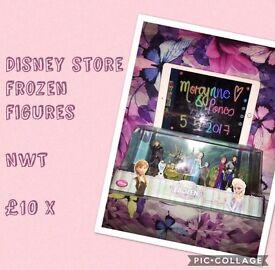 Disney store frozen figures NWT