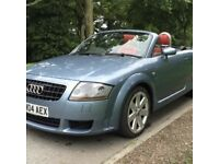 Audi TT 3.2 v6 Automatic tiptronic DSG convertible Roadster spares or repairs