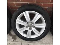 "Audi 17"" Alloys + Tyres (new)"