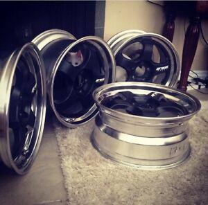 "17"" Genuine Work Meister S1 wheels (2 piece welded)"