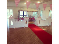 CHILDRENS PRINCESS POP UP PARTY HIRE