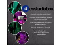 Studio time/ Music Studio for hire