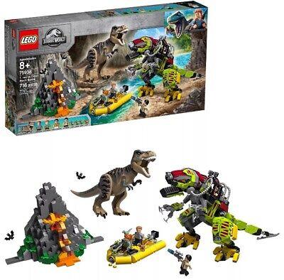 Lego Jurassic World 75938 T.rex vs Dino-Mech Battle   Brand New-GET IT BY XMAS!