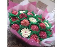 Beauty Bakes - birmingham bespoke cupcakes, cupcake bouquets, platters, personalised toppers