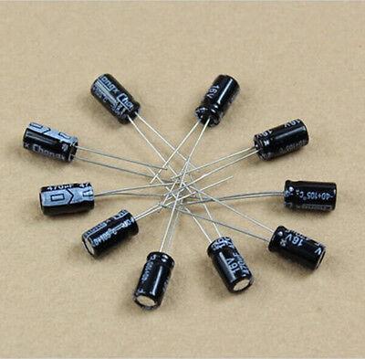 20pcs Radial Electrolytic Capacitor 1uf 4.7uf 10uf 100uf 220uf 330uf 680uf Etc.