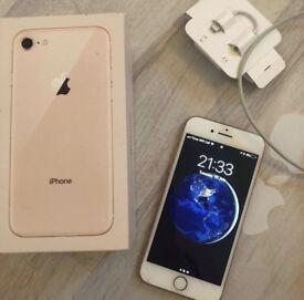 iPhone 8 64gb gold UNLOCKED