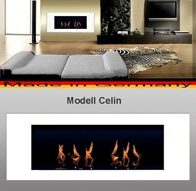 Fireplace Celin-White for Gel or Ethanol / Made in Germany / fire place etanol ()