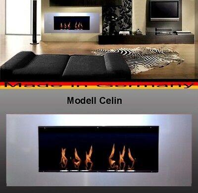 Fireplace Celin-Silver for Gel or Ethanol / Made in Germany / fire place etanol ()