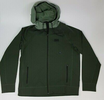 Abercrombie & Fitch Men's Zip Jacket Quilted Medium Olive Green New with...