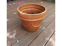 Terracotta garden patio pot planter large flower greek style italy design styles Swag designs