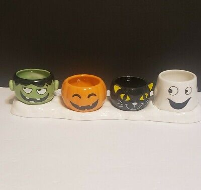 Yankee Candle Halloween Friends Multi Tea Light Candle Holder ~Halloween 2019~