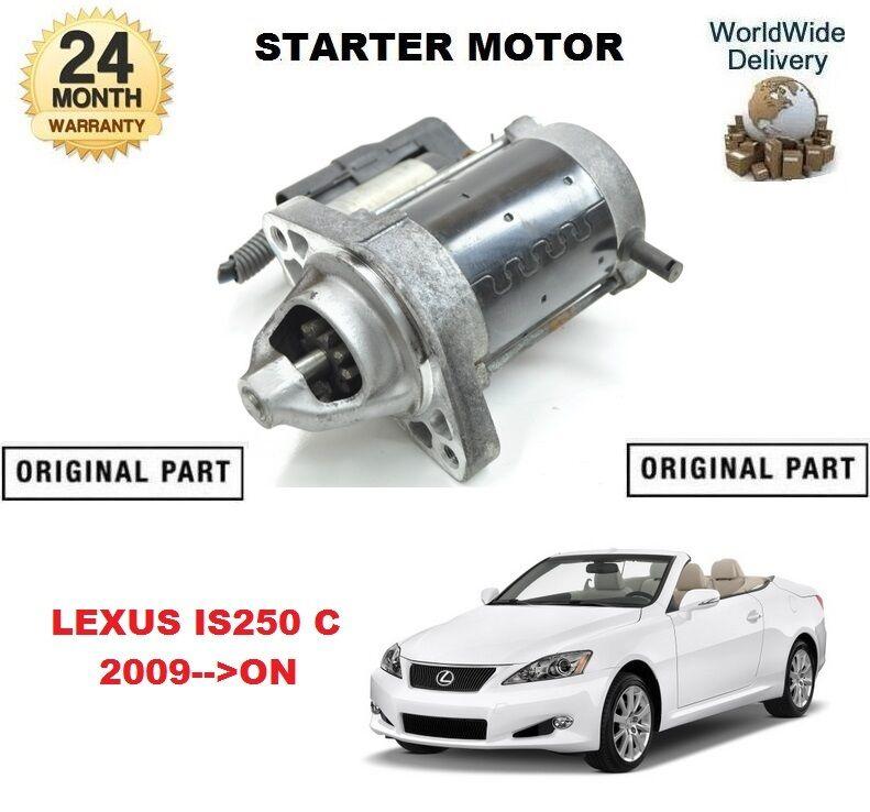 FOR LEXUS IS250 C ISC 2009-->ON NEW ORIGINAL STARTER MOTOR