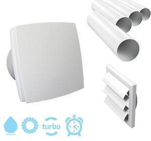 Turbo-Badluefter-Lueftungsgitter-Lueftungsrohr-Badventilator-Absaugluefter