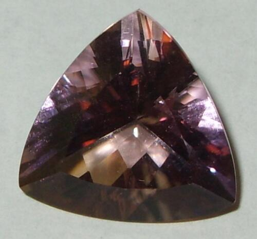 10.90ct Stunning Bolivian Blended Ametrine Trillion Cut 16mm SPECIAL