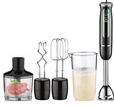 Electric Hand Blender Kitchen Multi-functional Food 220V Chopper Whisk Mixer Set