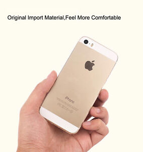 Soft Cover Protective Case for iPhone 5 / 5S Ultra-thin NEW BNIB