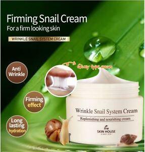 The Skin House Wrinkle Snail System Cream 50ml, best seller, elastic & tight