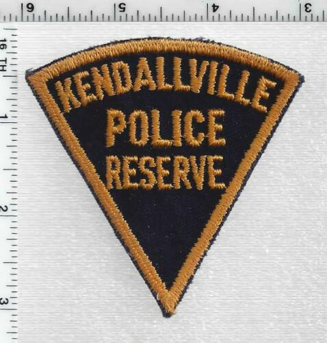 Kendallville Police Reserve (Indiana) 1st Issue  Patch