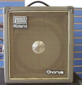 Amplificateur Vintage ROLAND CUBE 60 Chorus Fonctionne A-1