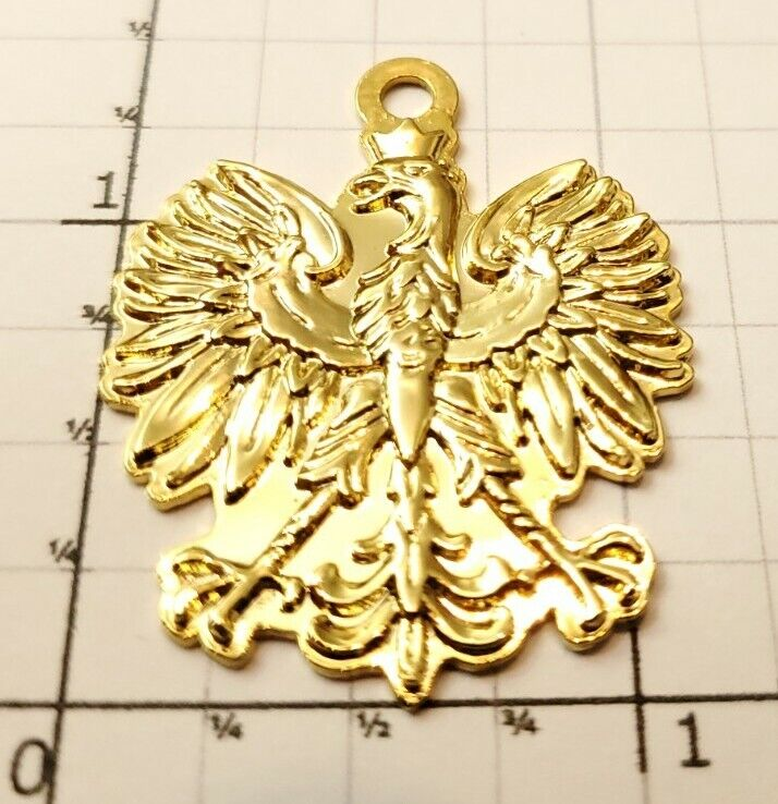 Poland Eagle Penadnt Godlo Orzel Bialy Bialego Polska Polish