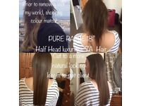4A FULL HEAD OFFER - ONLY £120! 100% Human Remy Virgin Hair extensions, 6 methods & hair grades.