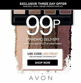 avon free brochure ,samples