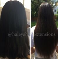 HAIR EXTENSIONS! Mobile service available.