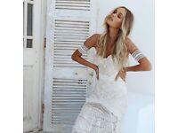 Selling my beautiful Rue de Seine dress, Size 8, Ash gown