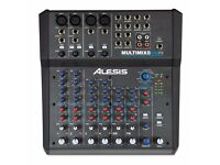 Alesis Multimix 8 USB FX 8 Channel Mixer with effects/usb interface
