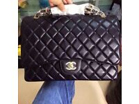 Chanel Maxi Caviar Leather Bag