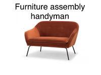 Flatpack furniture assembly handyman service