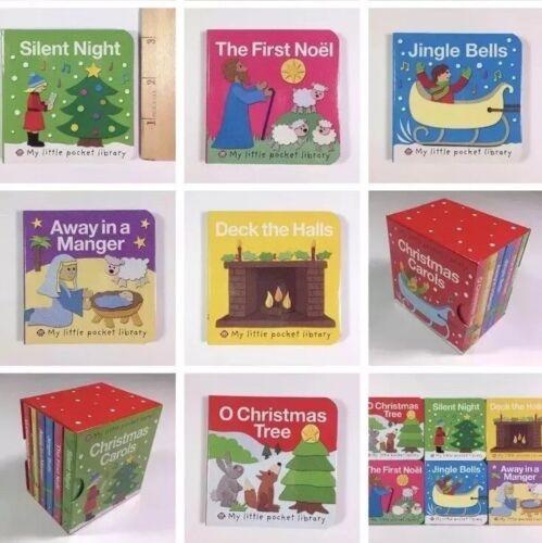 Christmas Board Book Gift Set Childrens Baby Stocking Stuffe