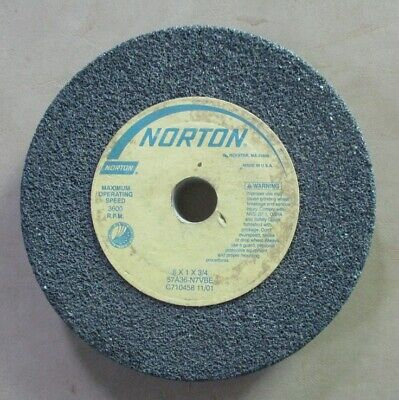 Norton Grinding Wheel 8 X 1 X 34 57a36-n7vbe Pre-owned