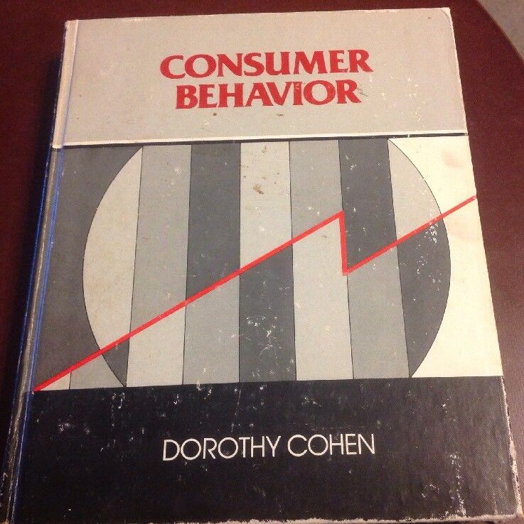 Consumer Behavior By Dorothy Cohen - HC 1981 - First Edition Stated - Rare