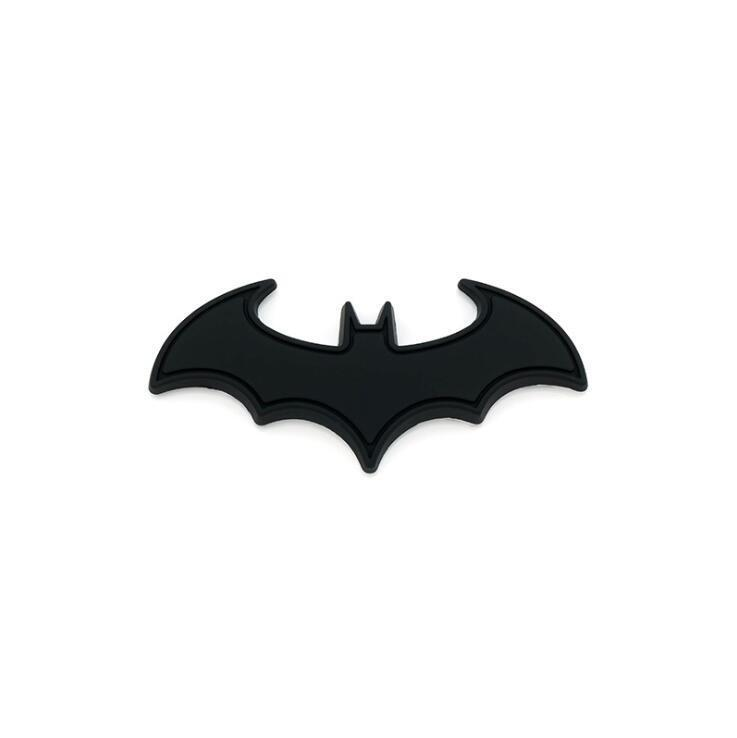 Black Metal Batman dark knight Dart Badge Emblem Decal Sticker for car computer Breweriana, Beer
