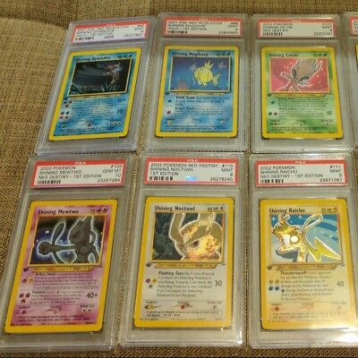 OLD Vintage Pokemon 3 Cards 1ST EDITION Lot Rare Holo - Shining? WOTC 961/1000 for sale  Marquette