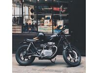 Yamaha xs650 brat style bobber chopper cafe racer